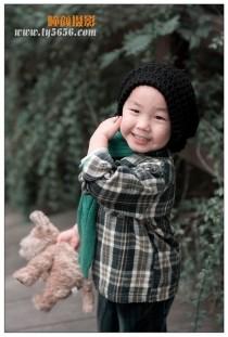 秋日--3岁男生于傲丞