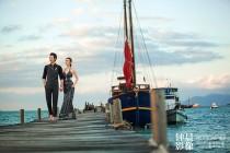 《泰国系列2之红帆码头》钟晨作品