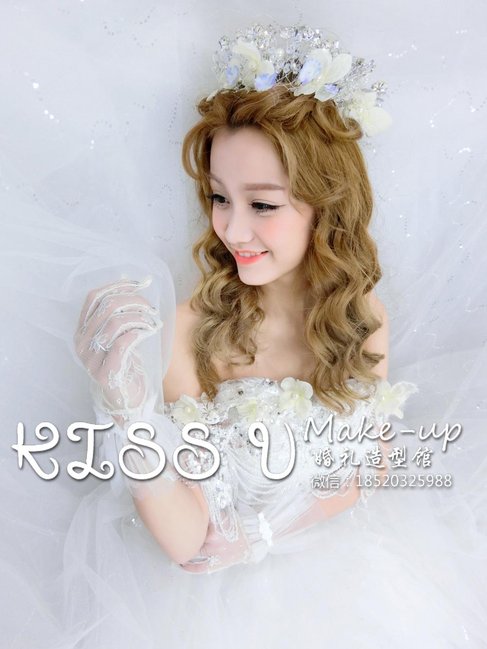 新娘皇冠造型欣赏-kiss