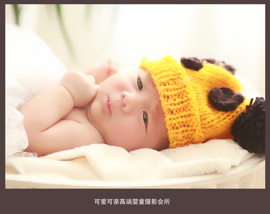 玉山可爱可亲高端婴童摄影会所满月萌照_儿童摄影作品