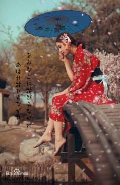 浪漫樱花。