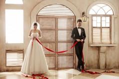 布拉格韩式婚纱照