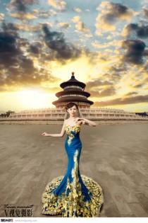 【V视觉摄影】最新天坛婚纱照客照