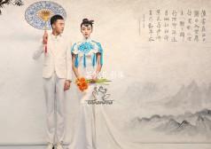 上海展会样片-工笔画