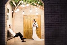 韩式婚纱样片一组