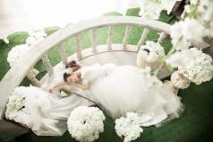 内景韩式婚纱样片一组 南京大数码后期工作室样片分享  ...