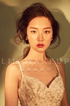 罗涛老师|轻复古明星新娘造型