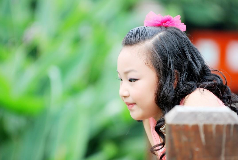 胖胖的小美女 儿童摄影作品