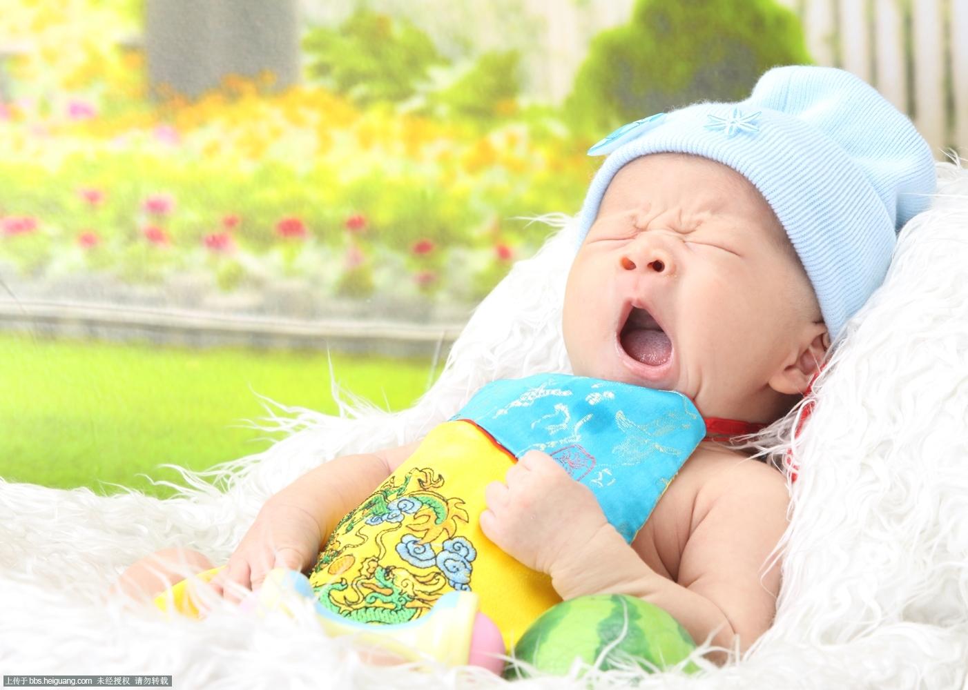 瞌睡图片可爱宝宝