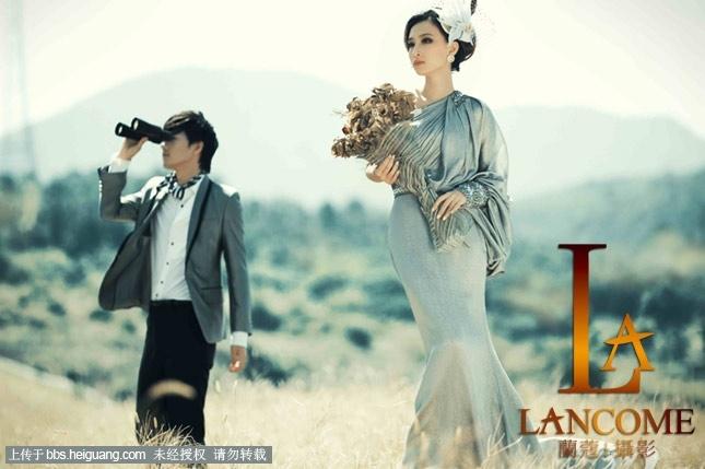 欧式婚纱照选兰蔻给你史上最华丽,最高贵的享受.