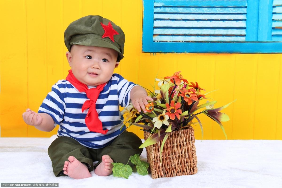 半岁男宝宝发型分享展示