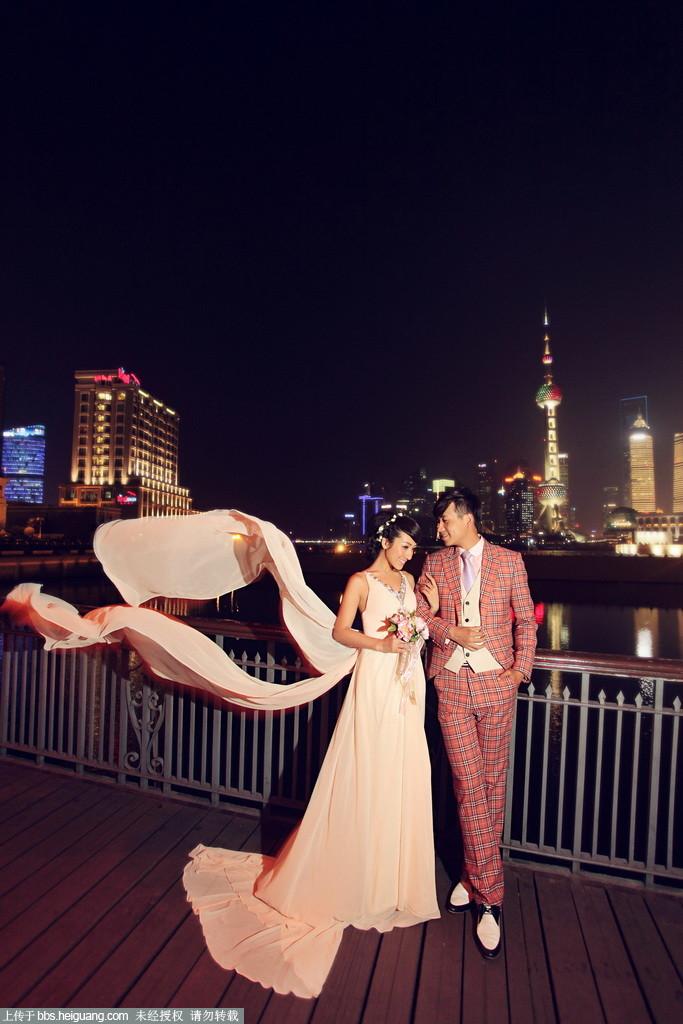 外灘夜景【上海i-d攝影】_婚紗攝影作品_黑光論壇圖片