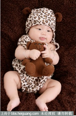 成都可爱多儿童摄影—超级无敌豹纹小可爱来咯