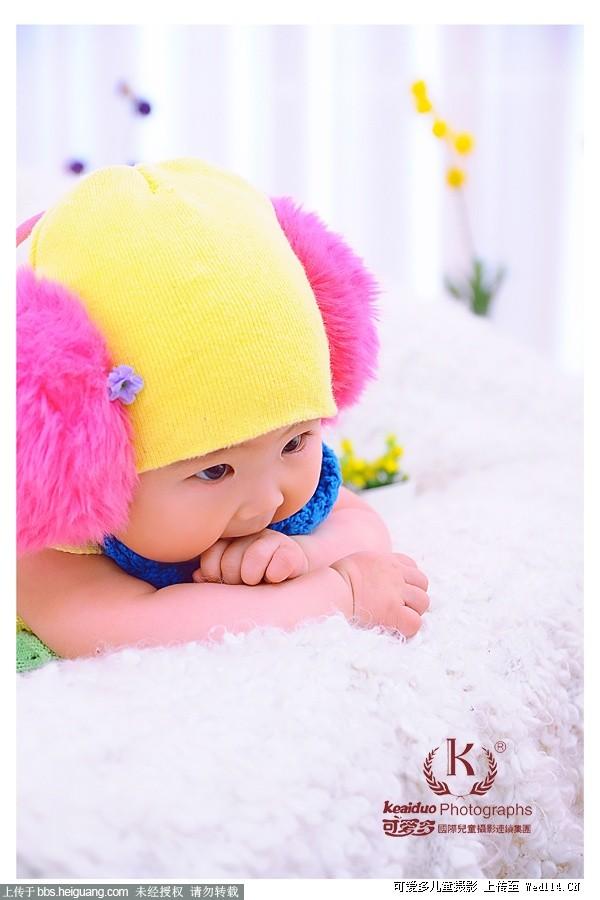 成都可爱多儿童摄影—百天小精灵