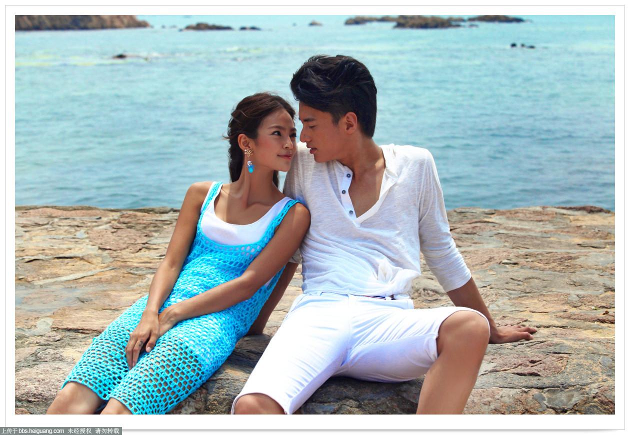 青岛韩式婚纱摄影之最美爱情5大举行海岛婚礼圣地