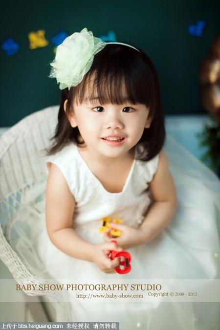 武汉baby秀儿童摄影----@妙宝三周岁