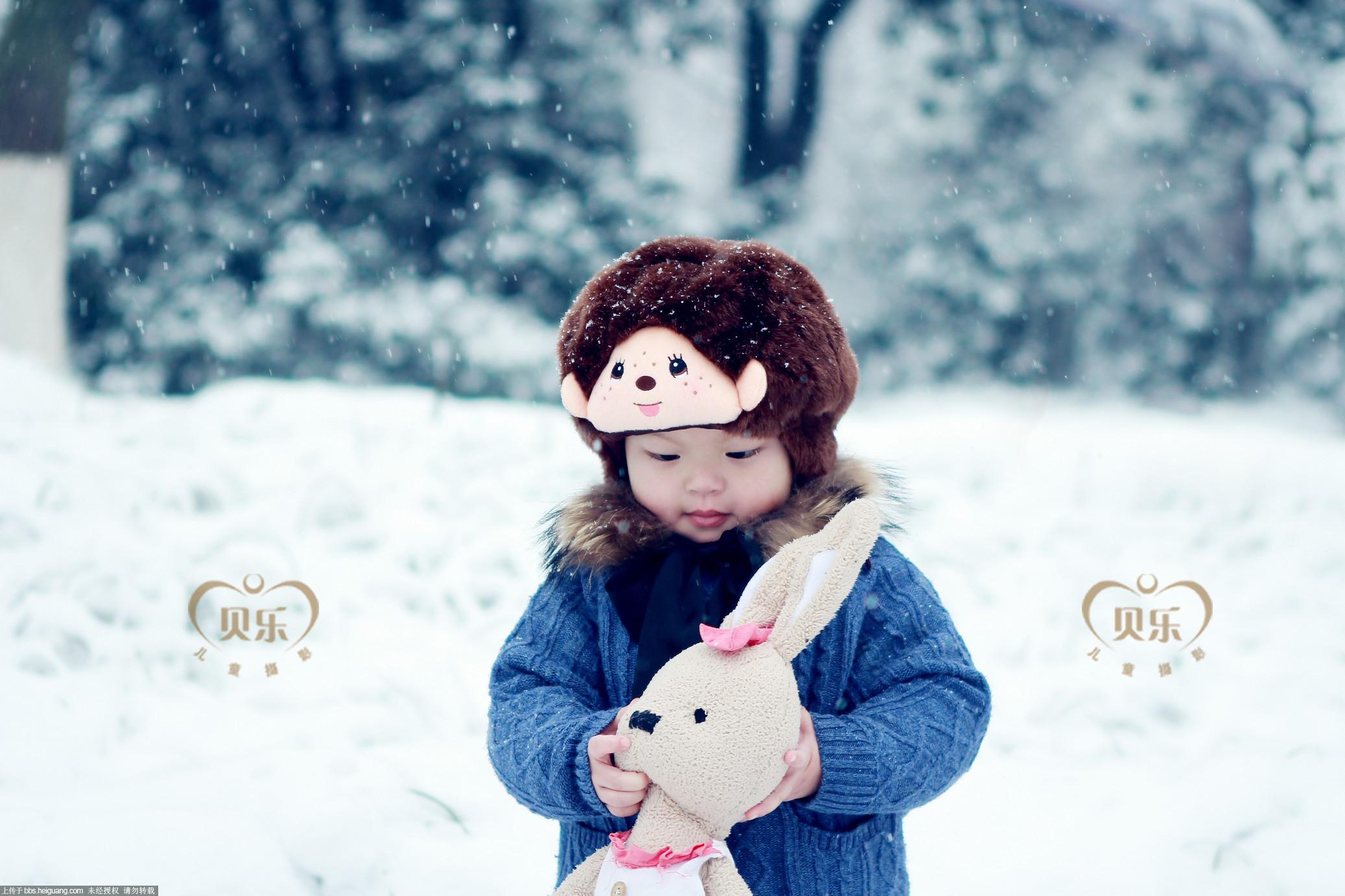 杭州贝乐韩式儿童摄影——邀您一同拍雪景