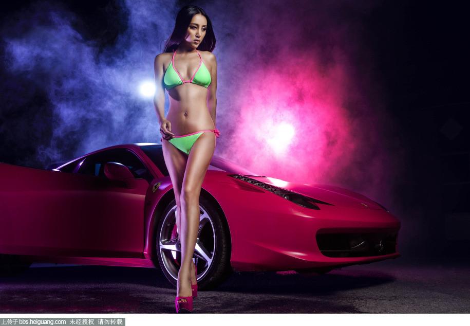 汽车美女 你喜欢吗?