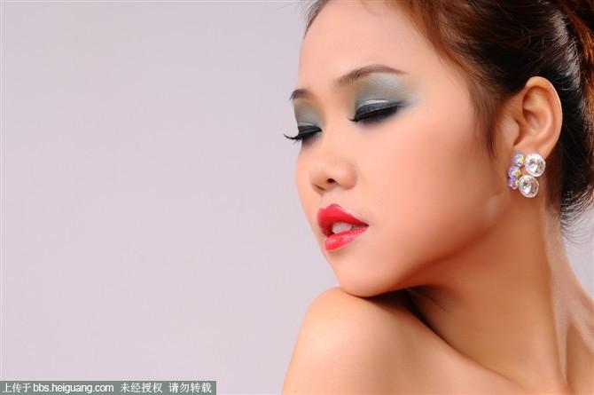 创意妆面手绘图片