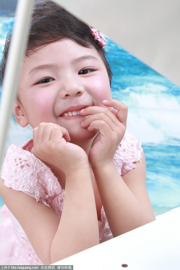 6岁小女孩 - 儿童摄影作品