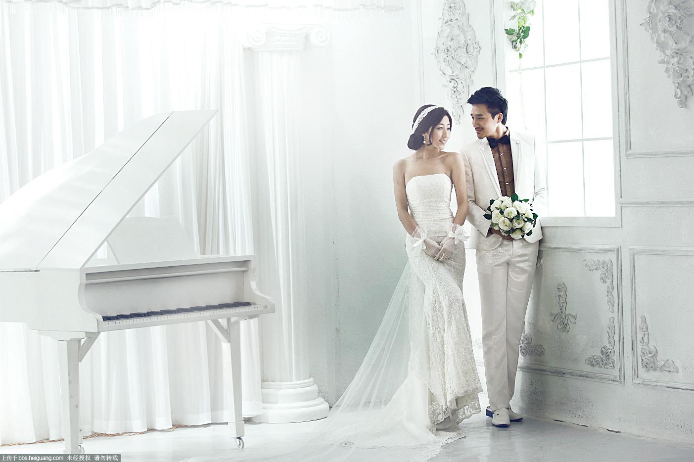 室内婚纱 新手作品