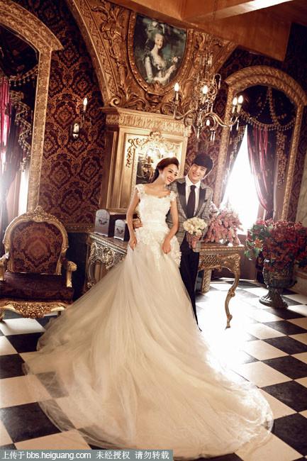 欧式婚纱摄影作品