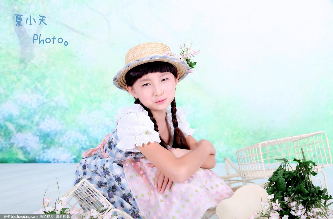 花信子_儿童摄影作品_黑光论坛