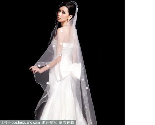 黑婚纱设计稿手绘图片