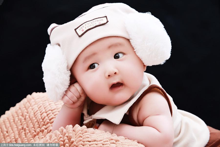 可爱萌男宝宝图片