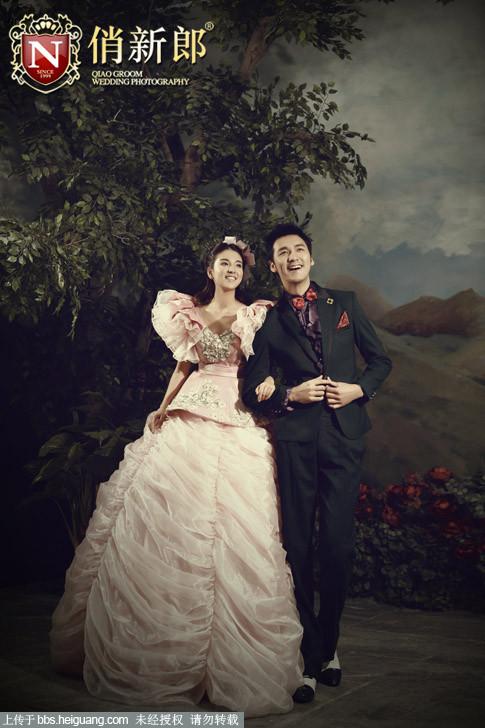 郑州婚纱摄影工作室,俏新郎欧式样片婚纱照