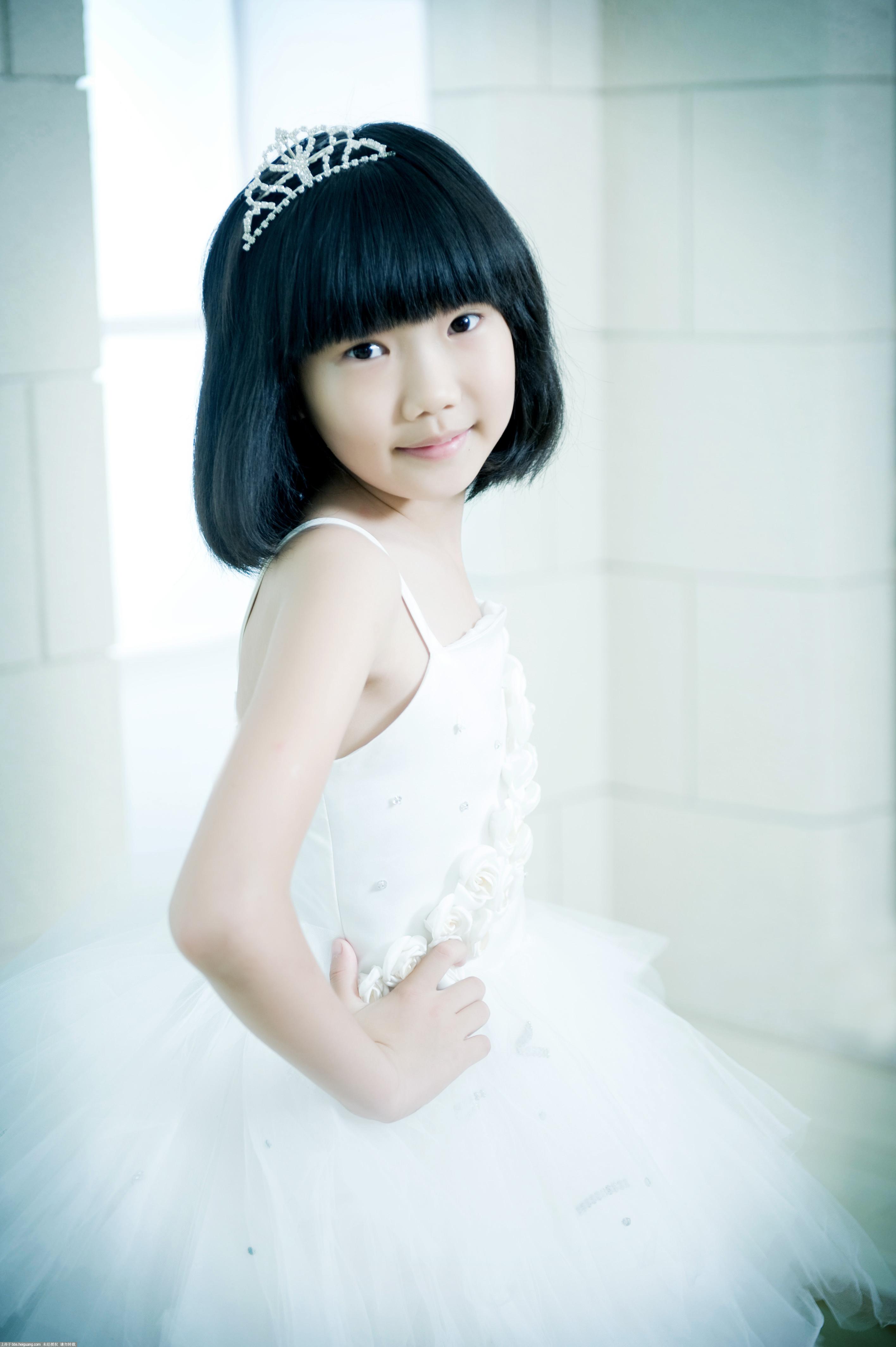 清新小美女 儿童摄影作品