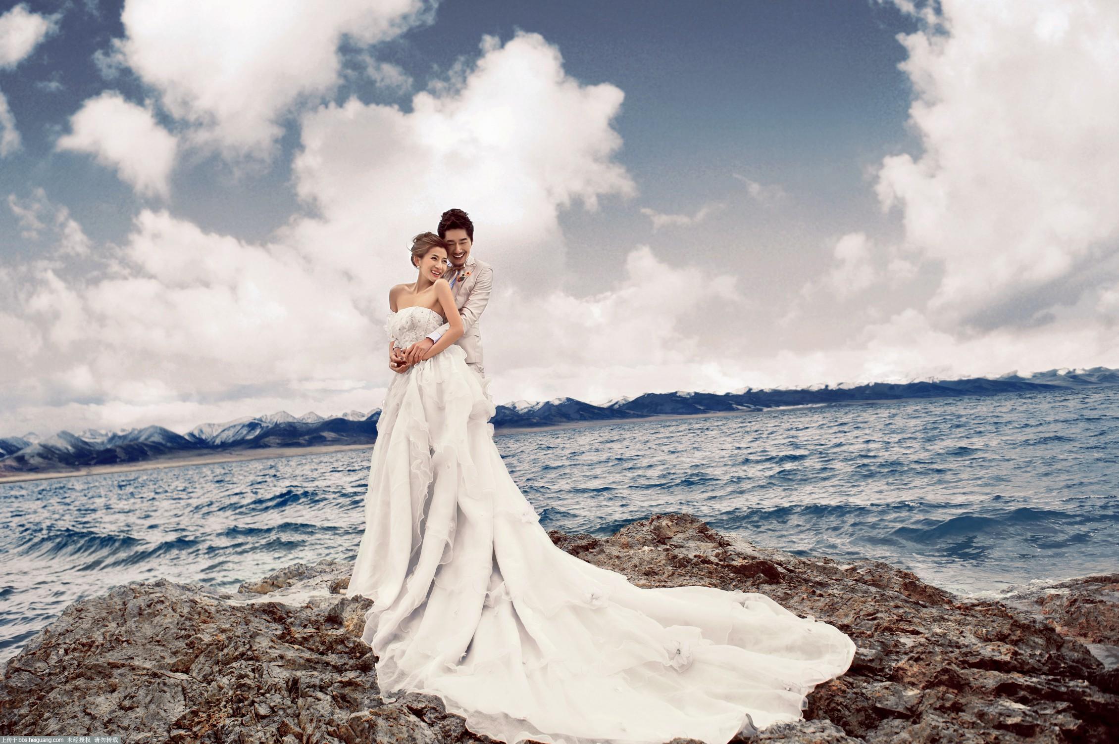 西藏婚纱摄影——纳木错《爱的颂歌》