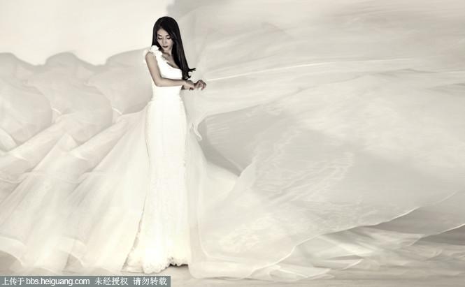 摄影作品 69 婚纱摄影作品 69 新娘婚纱照--那一撇惊鸿  wxido