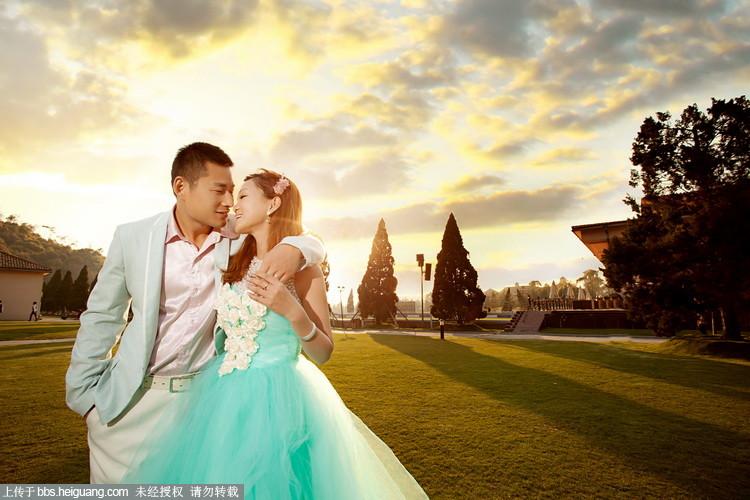 上海桔子婚纱摄影,欧式风格客照作品分享