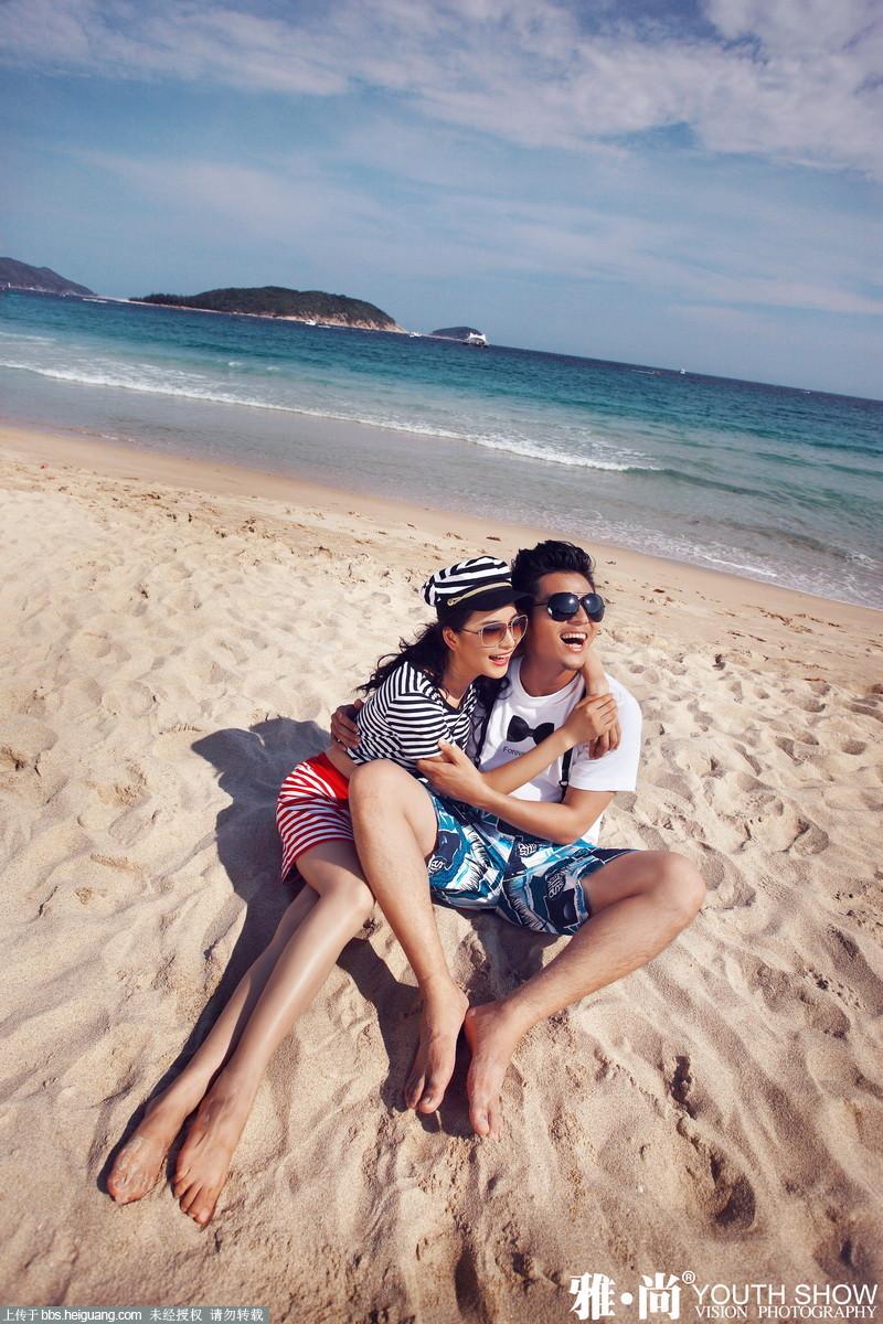 浪漫海边情侣照注意小事项