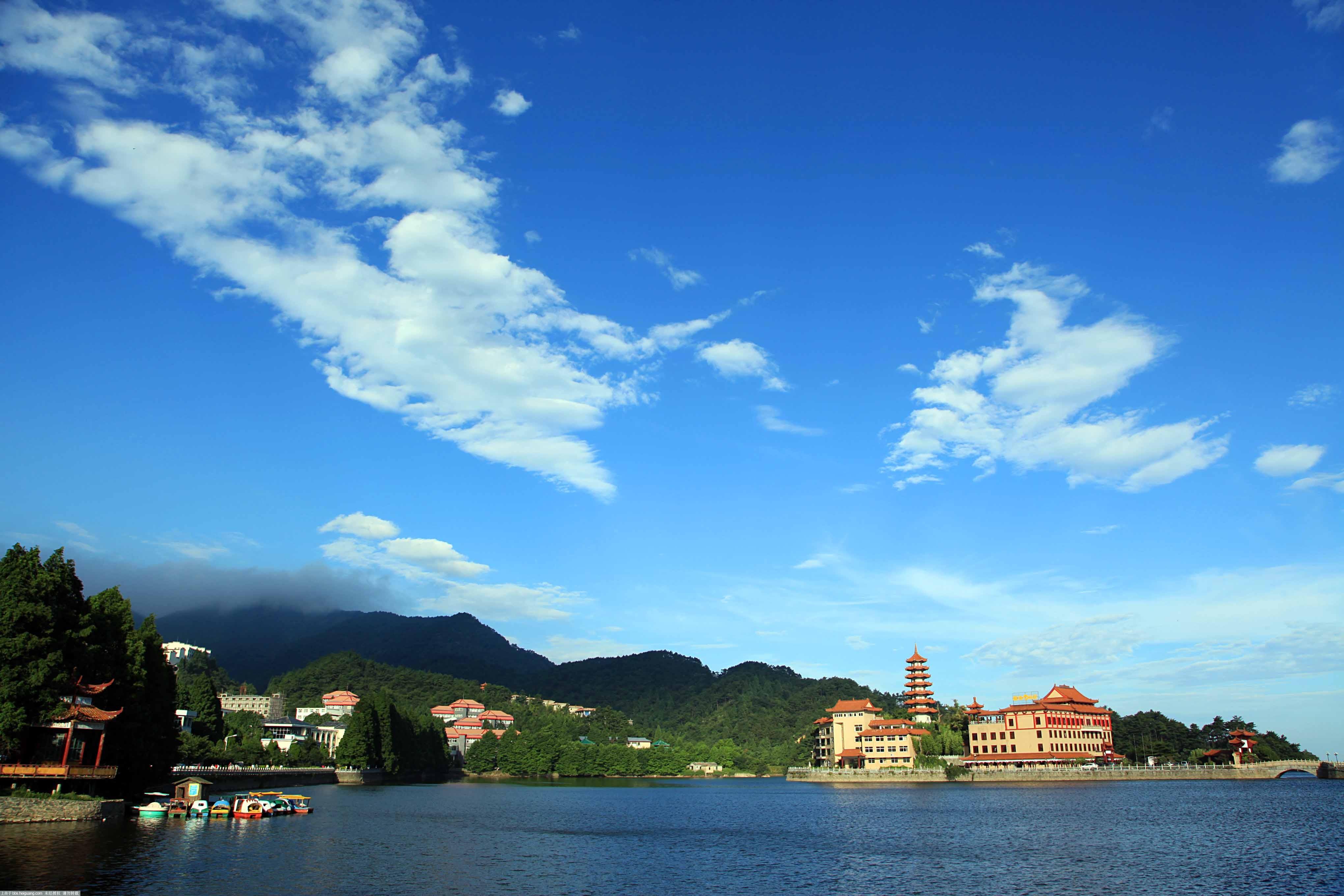 天�]L�k�9��yb-��.�c!_二度九宫山景区,天公给力,看到日出 蓝天白云