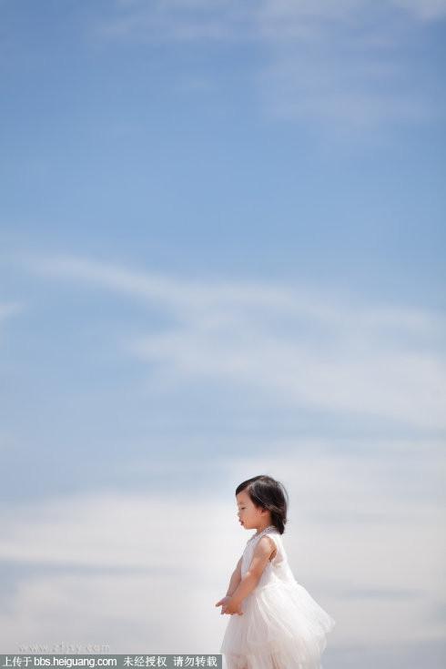 纸飞机儿童摄影7月17日作品