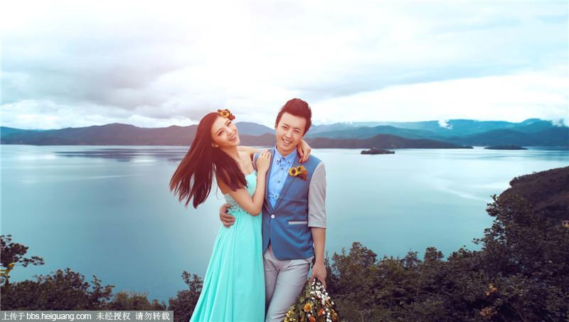 青岛婚纱摄影之走进泸沽湖畔