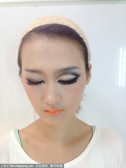 陶平化妆造工作室——欧式眼妆