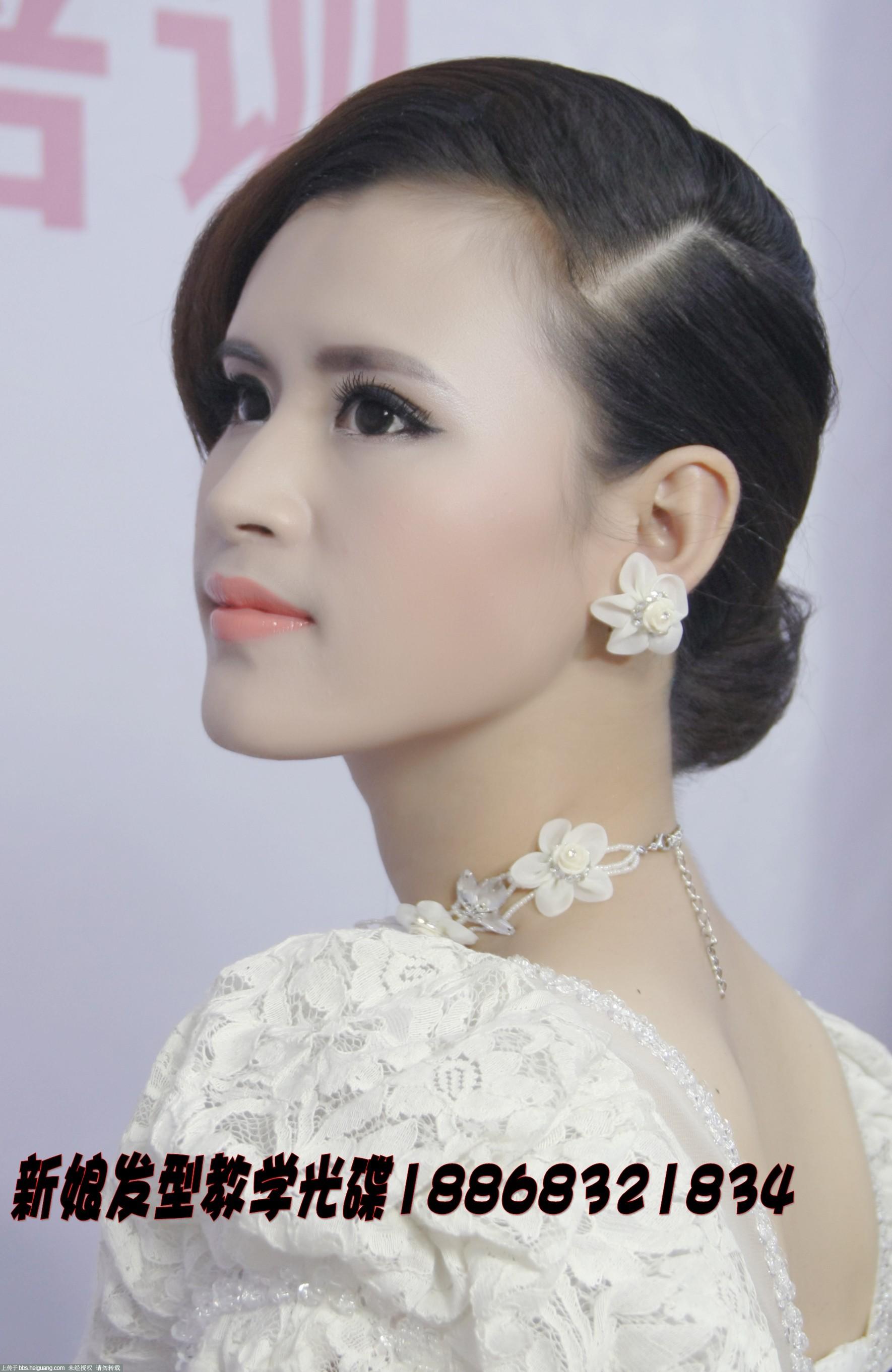 韩式可爱新娘造型 短发_发型设计