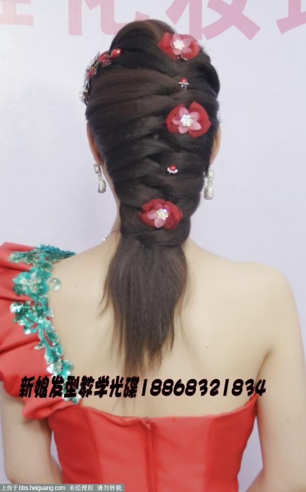 时尚经典婉约魅力晚礼服新娘发型