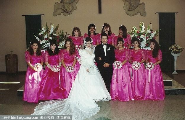 八十年代唯美复古婚纱照