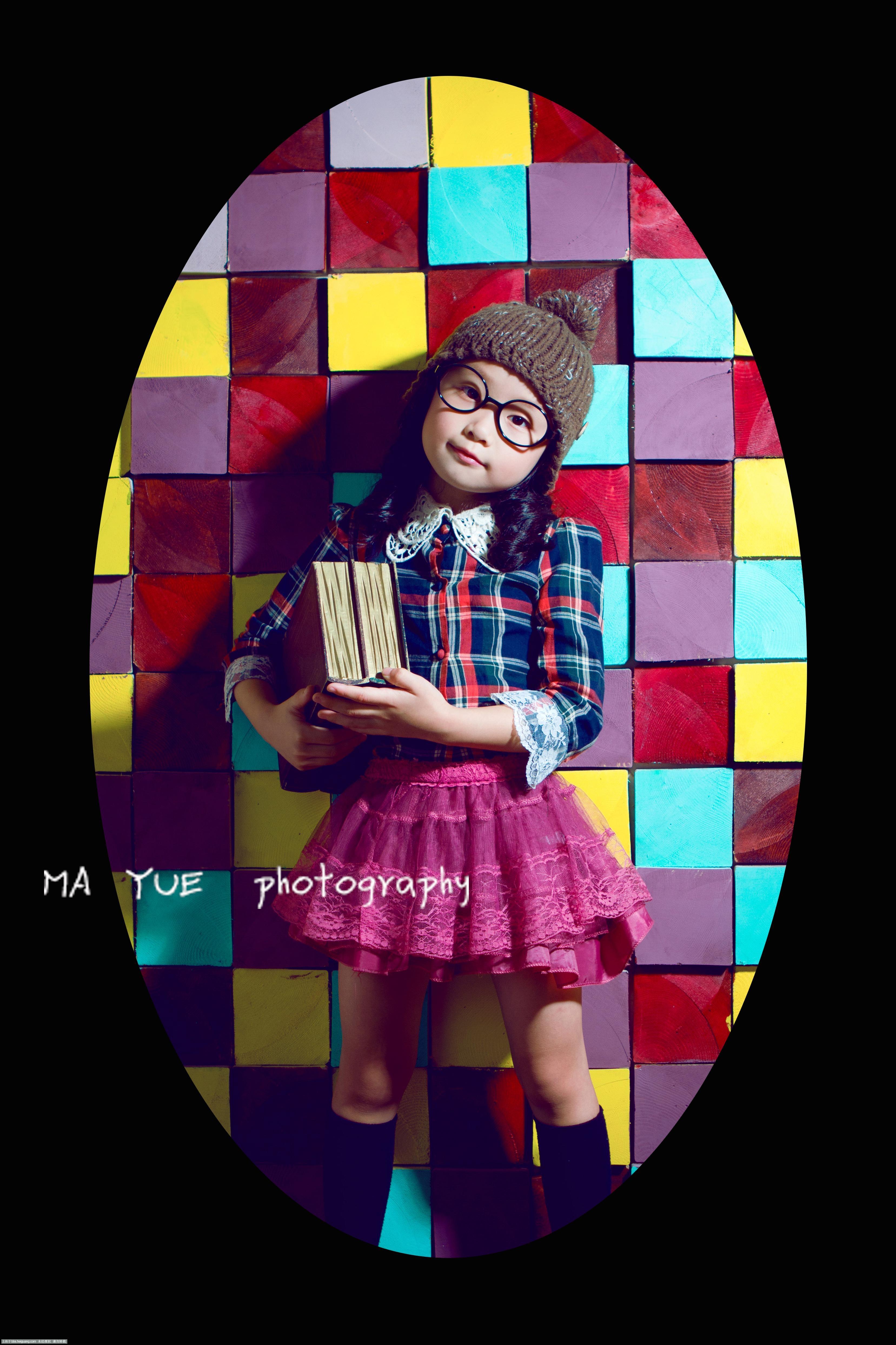 简单创意儿童摄影