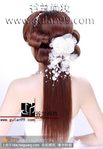 新娘包发发型步骤图解分享展示
