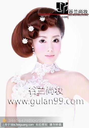 欧式新娘造型_化妆造型作品