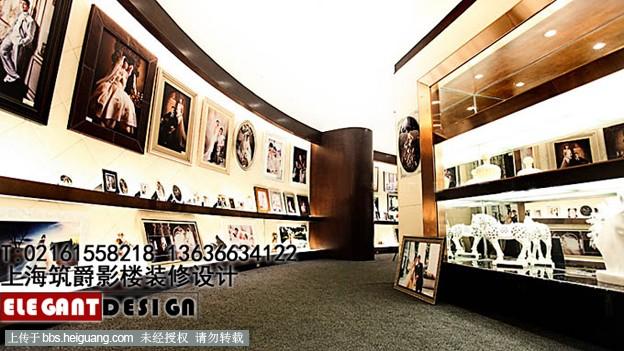 重庆影楼装修设计   杭州影楼装潢设计