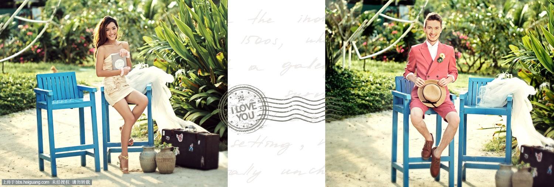 温州基地婚纱摄影-普吉岛-植物园-带爱去旅行系列