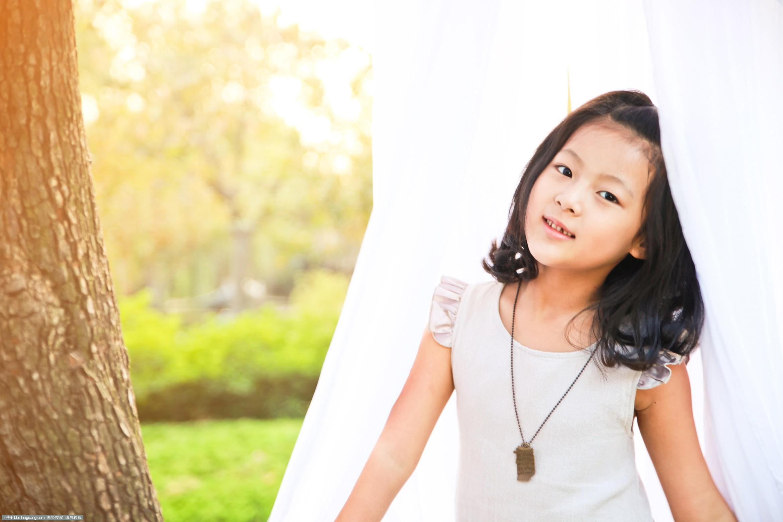 七岁-秋季_儿童摄影作品