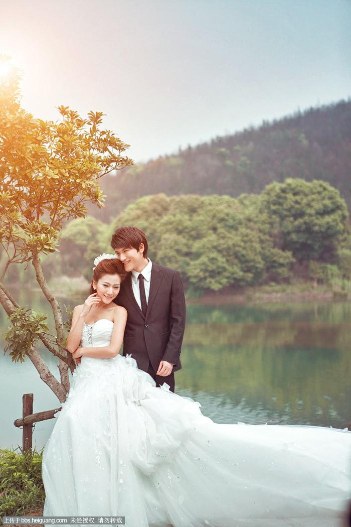 婚纱外景调色 - 数码作品欣赏