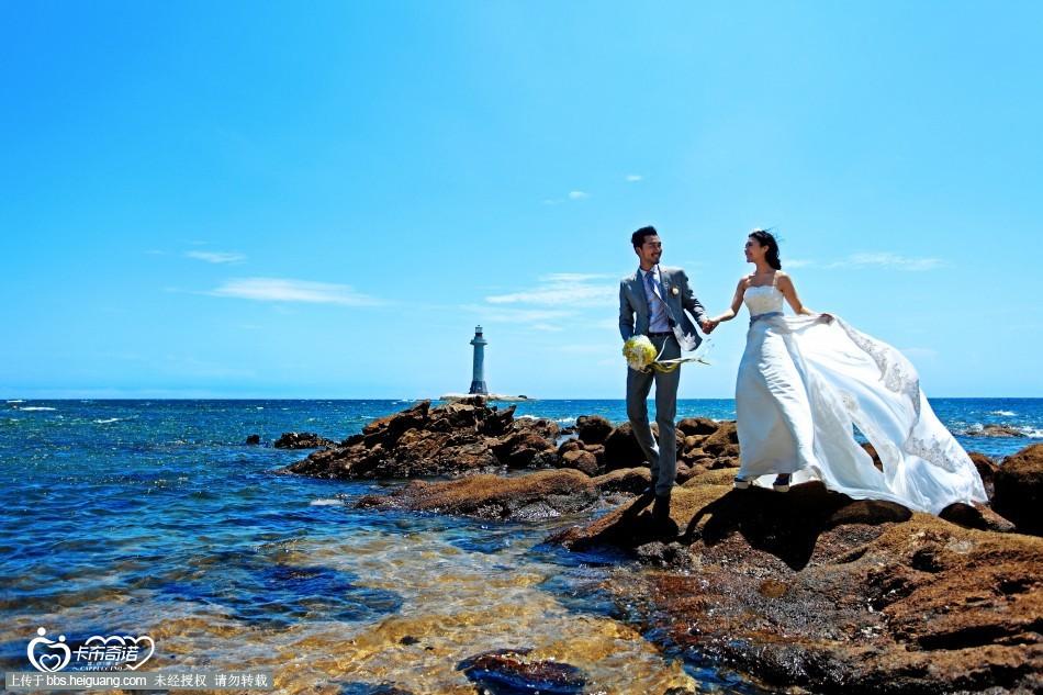 三亚海景婚纱照——灯塔.jpg